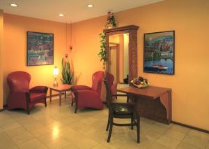 Гостиная зона в Hotel Sachsentor