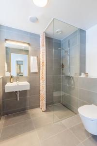 Et badeværelse på Nyborg Strand - Hotel & Konferencecenter