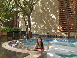 The swimming pool at or close to Regenta MPG Club Mahabaleshwar