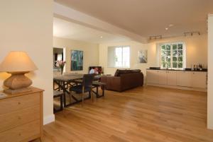 A seating area at Unicorn Aparthotel Suites