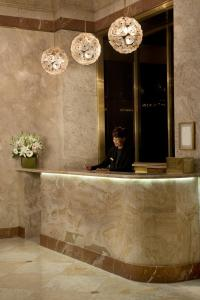 The lobby or reception area at The Kimberly Hotel & Suites