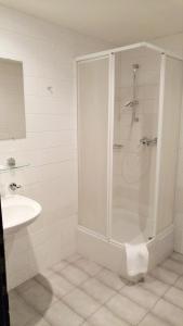 Koupelna v ubytování Hotel CB Royal