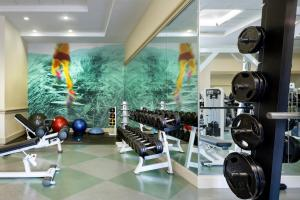The fitness center and/or fitness facilities at Walt Disney World Dolphin