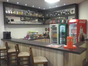 The lounge or bar area at Hotel Bela Vista Votorantim
