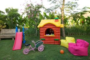 Children's play area at The Kampung