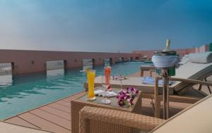 The swimming pool at or close to Hotel Royal Orchid, Jaipur