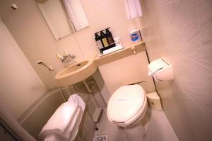 A bathroom at Kuretake-Inn Tokyo Funabori