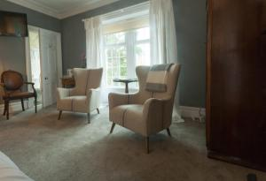 A seating area at Meifod House