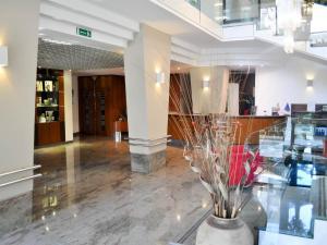 Hall o reception di Cristal Palace Hotel