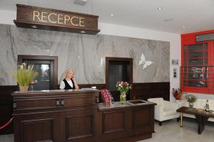 Vstupní hala nebo recepce v ubytování Hotel Berg