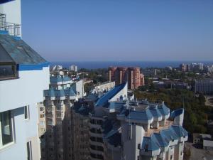 A bird's-eye view of Pleasure Apartment near center of Odessa