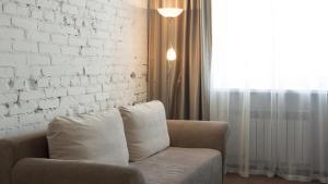 Гостиная зона в Отель Центральный Барнаул