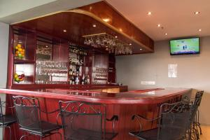 The lounge or bar area at The Durban Hotel Guyana INC.
