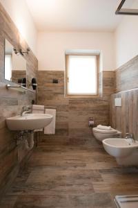 Koupelna v ubytování Central Rin