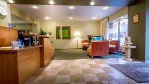 Lobby alebo recepcia v ubytovaní Aribe