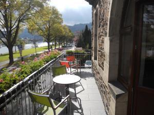 A balcony or terrace at Hotel Villa Vinum Cochem