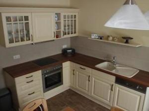 Küche/Küchenzeile in der Unterkunft Ferienhaus Niedan