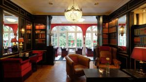 The lobby or reception area at Apollofirst Boutique Hotel