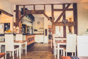 A restaurant or other place to eat at The Salwey Arms