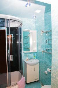 Ванная комната в Гостевой дом Подворье Ямщика