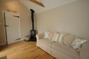 A seating area at River Cottage