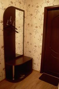 Телевизор и/или развлекательный центр в Hotel La Scala Krasnodonskaya