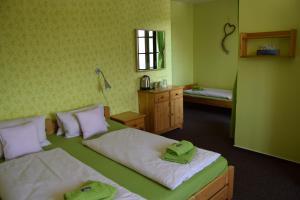 Postel nebo postele na pokoji v ubytování Verde Rosa