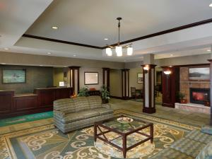 The lobby or reception area at Homewood Suites by Hilton Dover - Rockaway