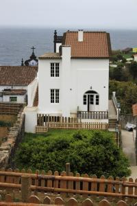 A balcony or terrace at Casa do Vale do Sossego