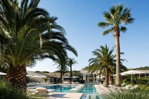 The swimming pool at or near Sezz Saint-Tropez