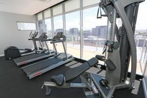 The fitness center and/or fitness facilities at Alex Perry Hotel & Apartments