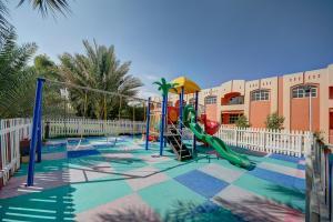 Children's play area at Asfar Resorts Al Ain