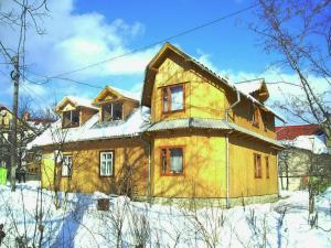 Guesthouse U Deda Viktora during the winter