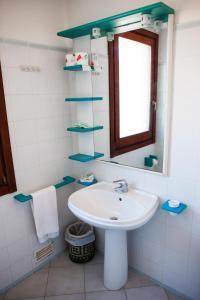 A bathroom at Hotel Miralonga