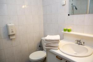 Ein Badezimmer in der Unterkunft Apparthotel De Wielingen