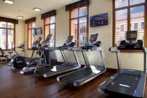 Salle ou équipements de sports de l'établissement Hilton Molino Stucky Venice