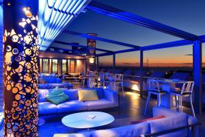 Lounge oder Bar in der Unterkunft Hilton Molino Stucky Venice