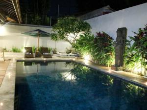 The swimming pool at or near Linda Villa Sanur