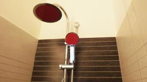 A bathroom at Hotel Nautilus