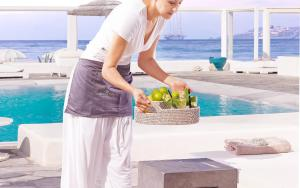 Piscine de l'établissement Mykonos Bay Resort & Villas ou située à proximité