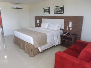 A bed or beds in a room at Holiday Inn Express Belem Ananindeua, an IHG Hotel
