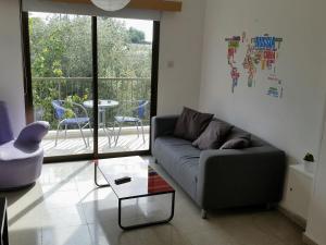Гостиная зона в Miris Mediterraneo Apartments