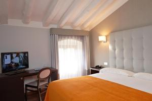 Una habitación en Hotel Termas Balneario Termas Pallares