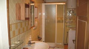 A bathroom at B&B A Casa Di Andrea
