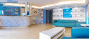 The lobby or reception area at Tagoror Beach Apartments