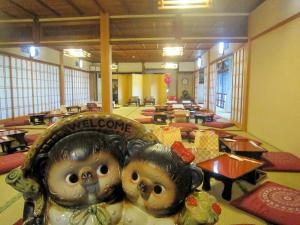 A restaurant or other place to eat at Ryokan Taishoro