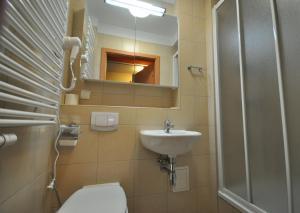 Kúpeľňa v ubytovaní Hostel Krakowiak
