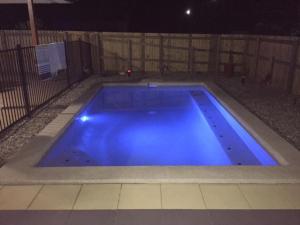 The swimming pool at or near Danlise
