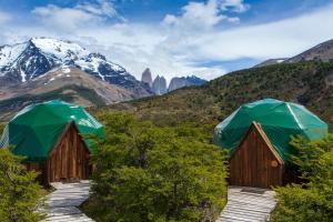 Vista general de una montaña o vista desde el lodge