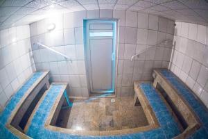 Um banheiro em Hotel Metrópole